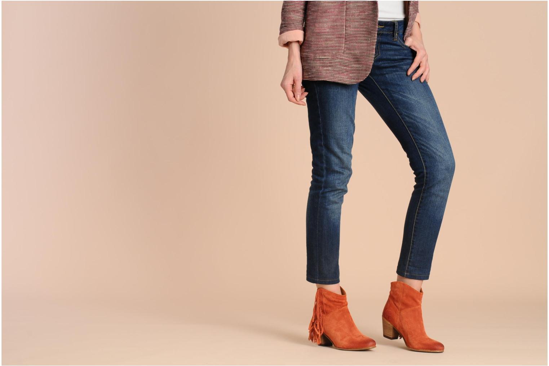 Stiefeletten & Boots Catarina Martins Capri LE2147 orange ansicht von unten / tasche getragen