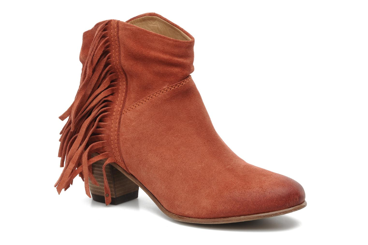 Catarina Martins Capri LE2147 (Orange) - Bottines et boots chez Sarenza (179946)