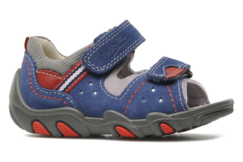 Sandalen Superfit Digon Blauw achterkant