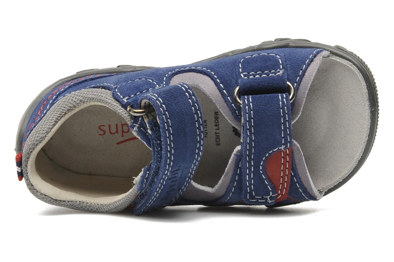 Sandalen Superfit Digon Blauw links