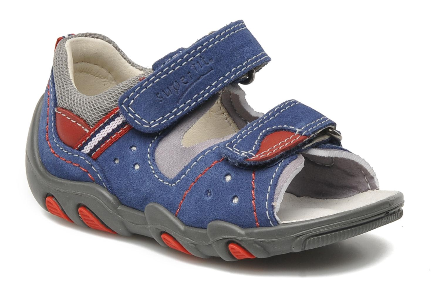 Sandalen Superfit Digon Blauw detail