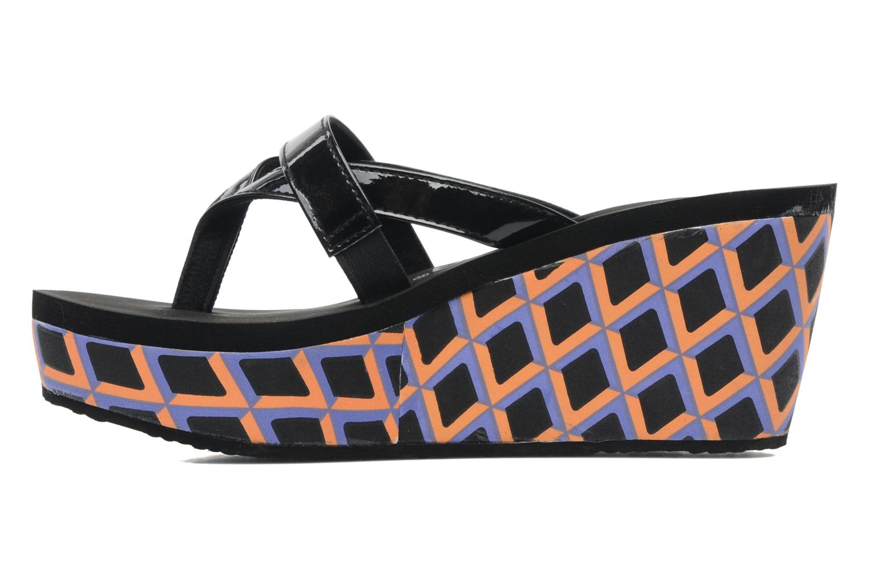 Deflina summer patent PU black/orange