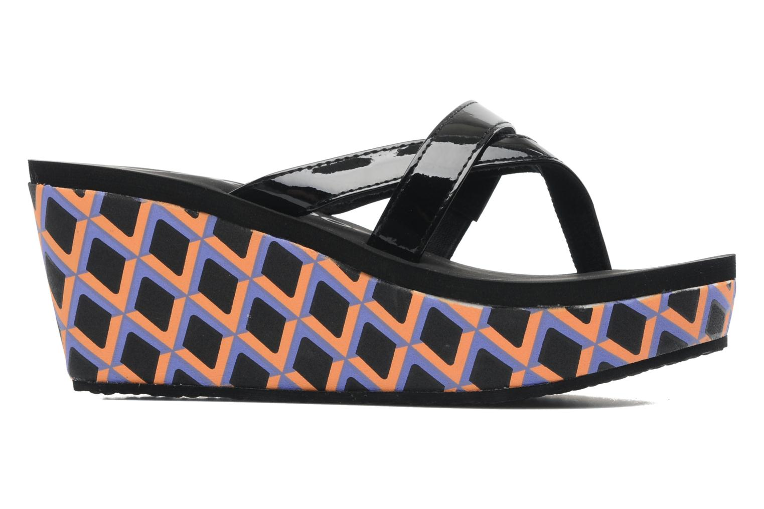 Deflina summer patent PU black/orange
