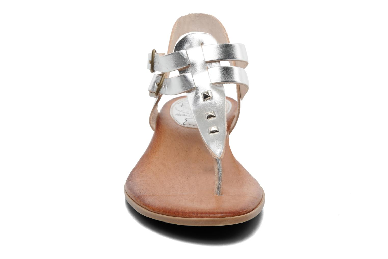 Sandales et nu-pieds Le Routard Markin Argent vue portées chaussures