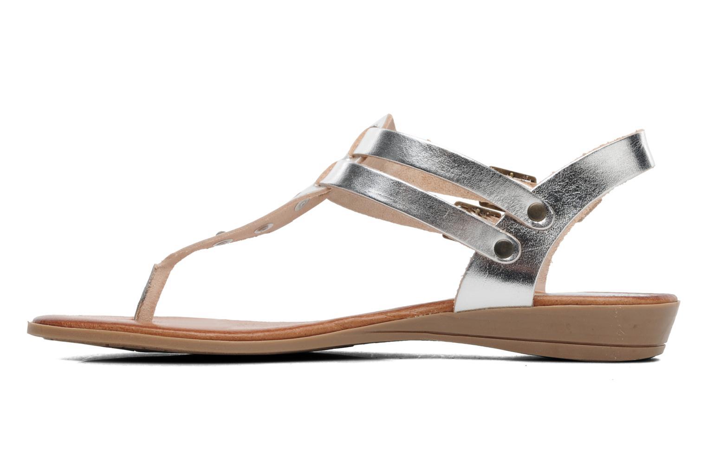 Sandales et nu-pieds Le Routard Markin Argent vue face