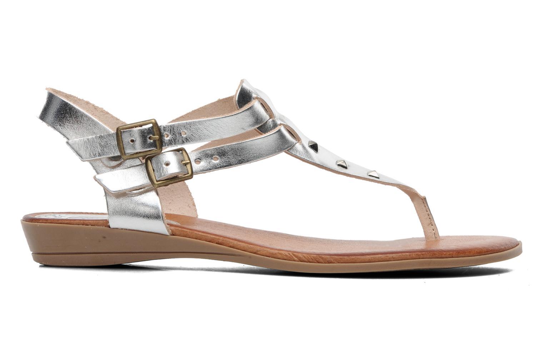 Sandales et nu-pieds Le Routard Markin Argent vue derrière