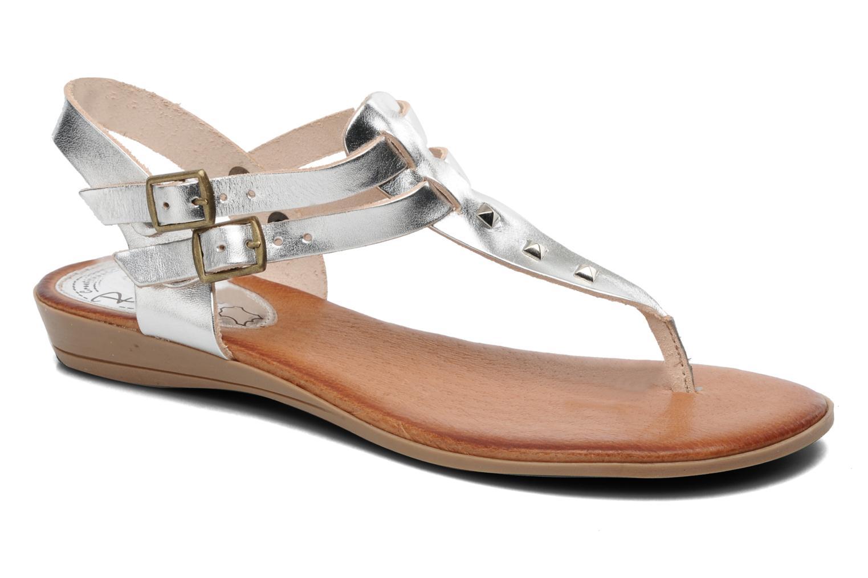 Sandales et nu-pieds Le Routard Markin Argent vue détail/paire