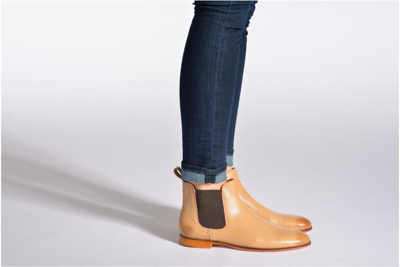 Stiefeletten & Boots Melvin & Hamilton Susan 10 beige ansicht von unten / tasche getragen