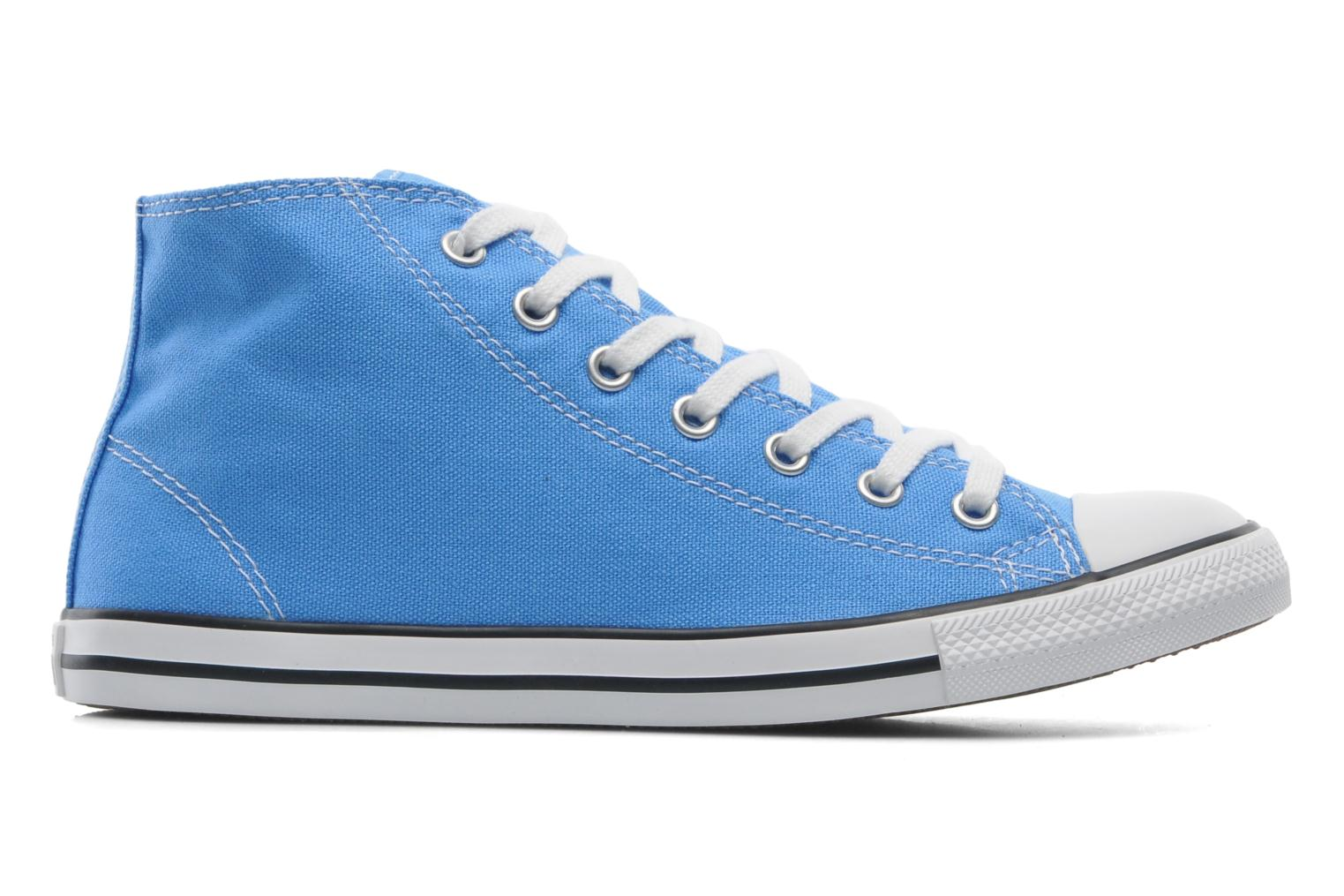 Baskets Converse All Star Dainty Canvas Mid W Bleu vue derrière