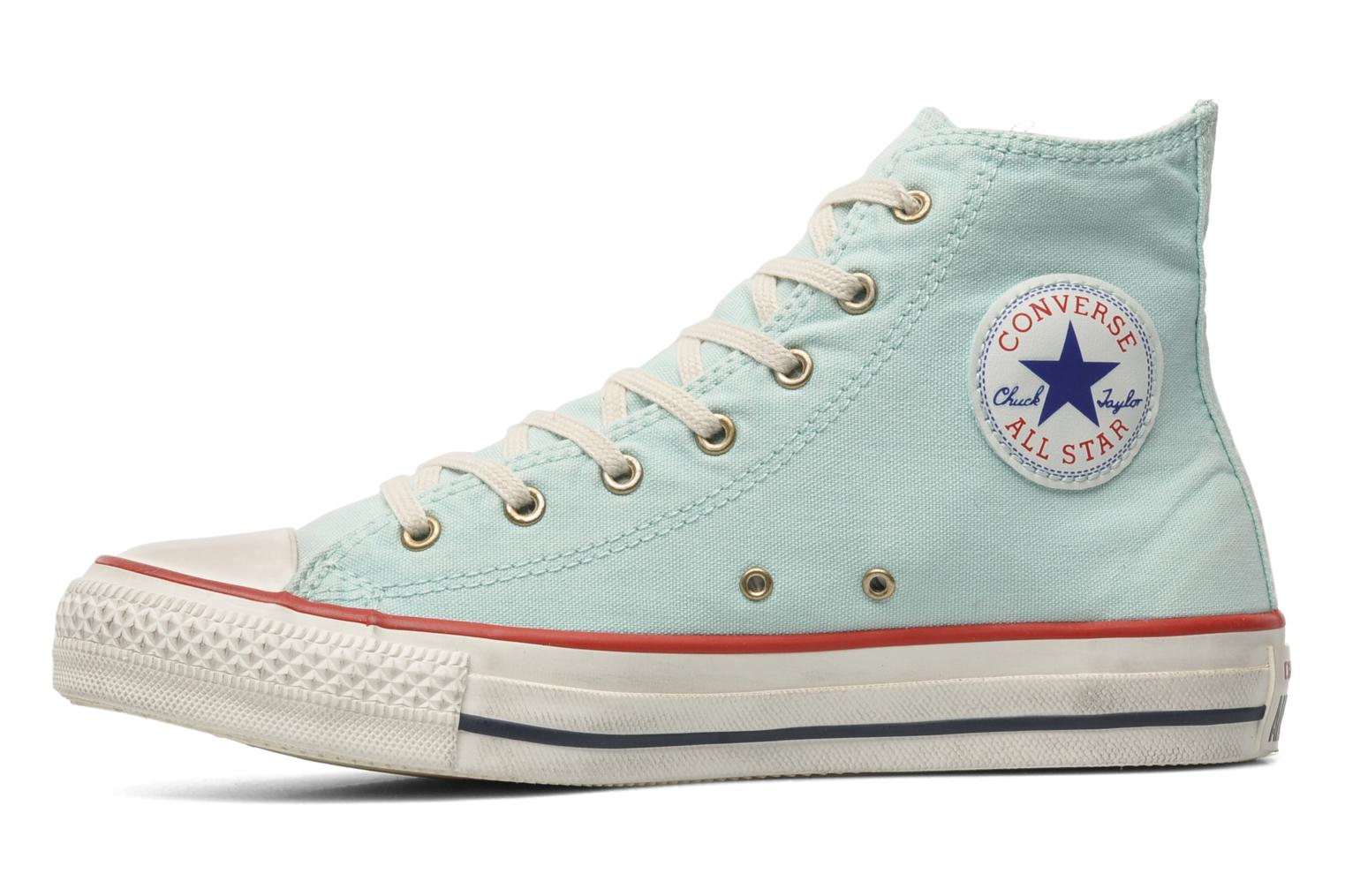 Trainers Converse Chuck Taylor All Star Well Worn Hi W Blue front view