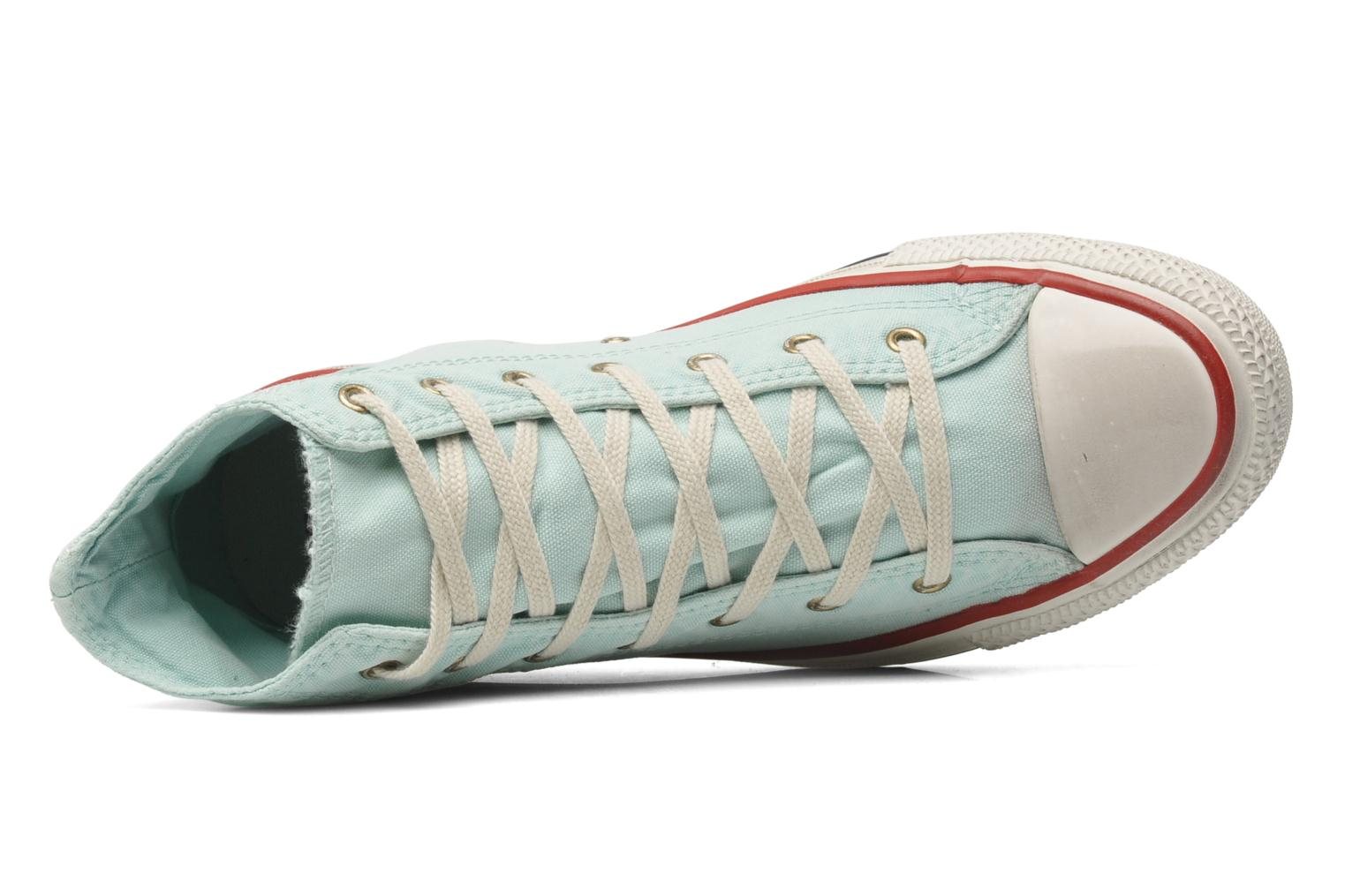 Trainers Converse Chuck Taylor All Star Well Worn Hi W Blue view from the left