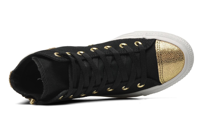Sneakers Converse Chuck Taylor All Star Sparkle Hi W Svart bild från vänster sidan