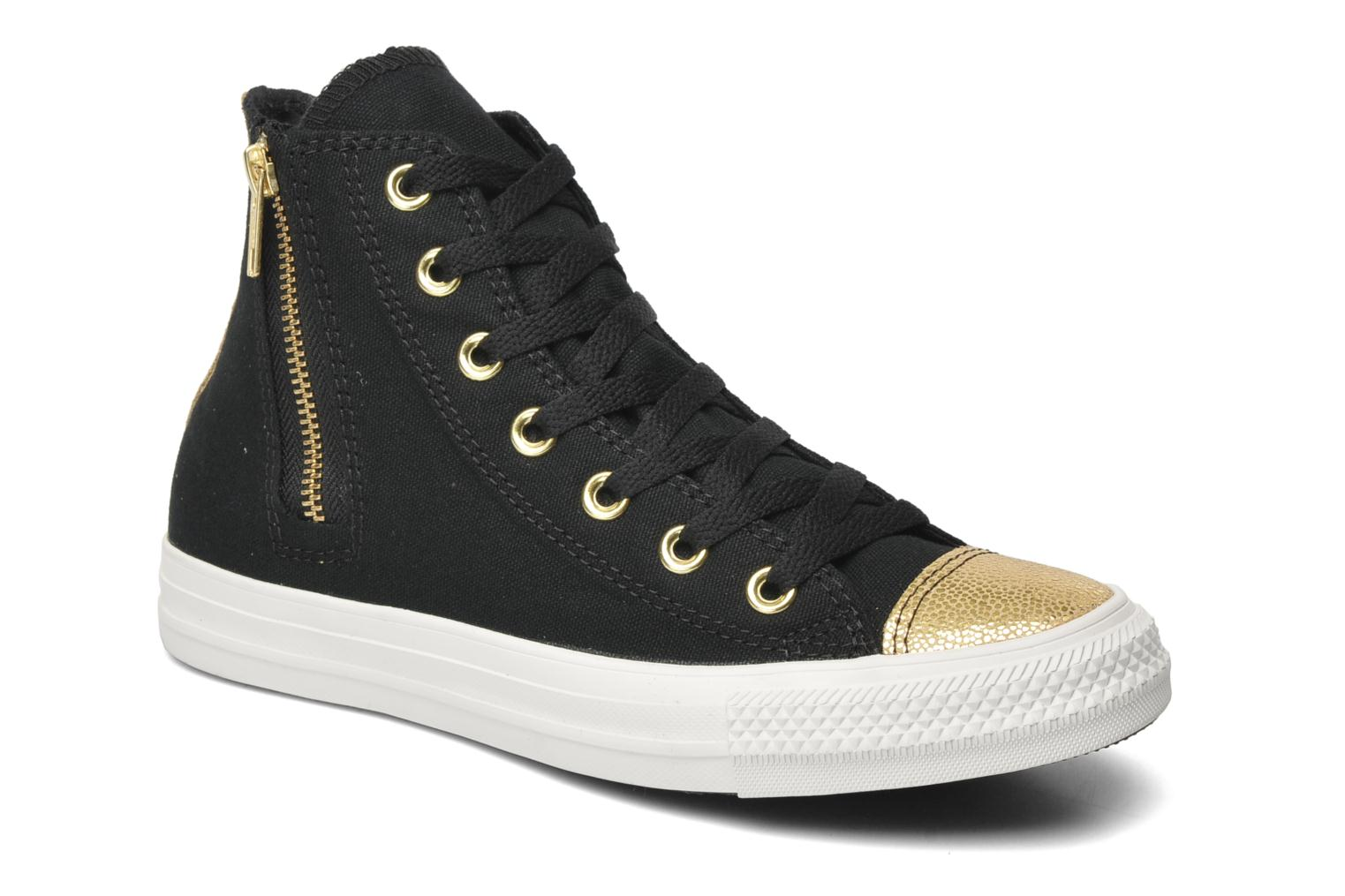 Sneakers Converse Chuck Taylor All Star Sparkle Hi W Zwart detail