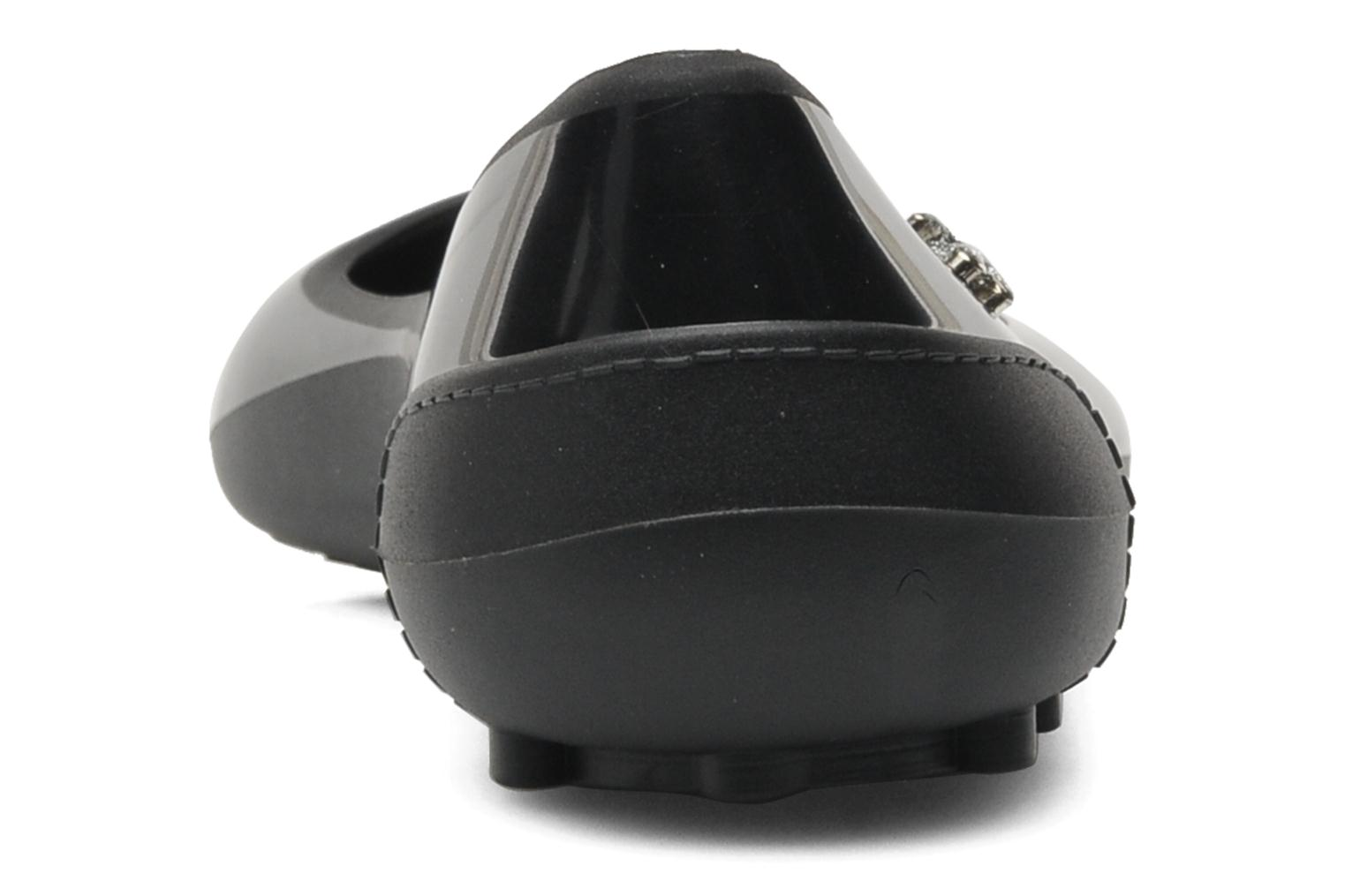Ballet pumps Méduse Salsada Black view from the right