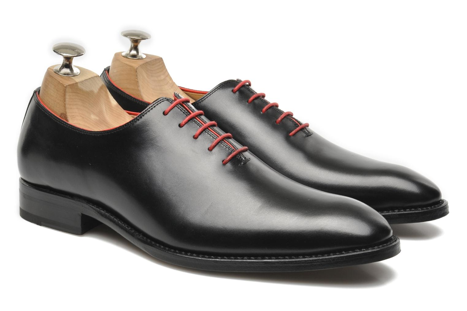 Lace-up shoes Marvin&Co Luxe Wade Black 3/4 view