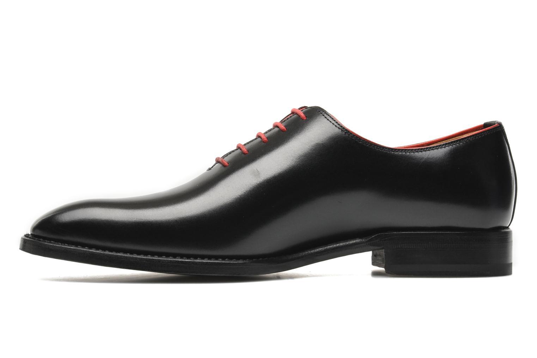 Snörade skor Marvin&Co Luxe Wade Svart bild från framsidan