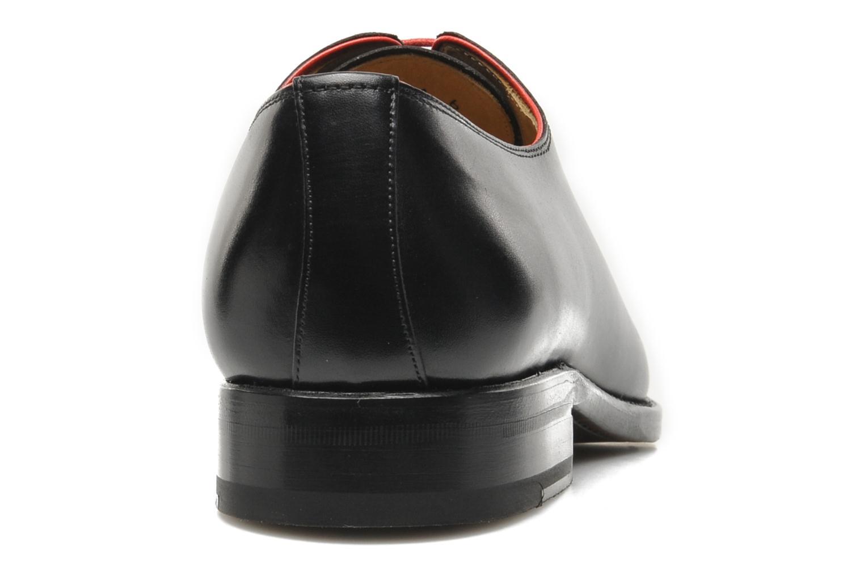 Snörade skor Marvin&Co Luxe Wade Svart Bild från höger sidan