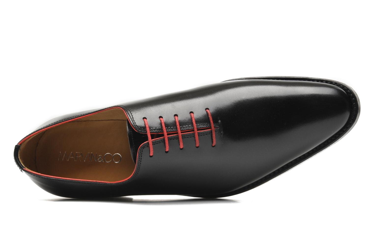 Lace-up shoes Marvin&Co Luxe Wade Black view from the left