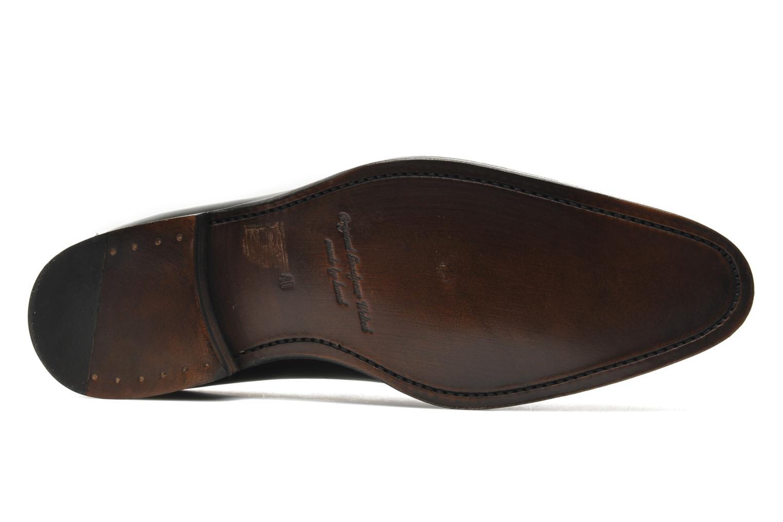 Snörade skor Marvin&Co Luxe Wade Svart bild från ovan