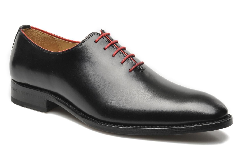 Chaussures à lacets Marvin&Co Luxe Wade Noir vue détail/paire