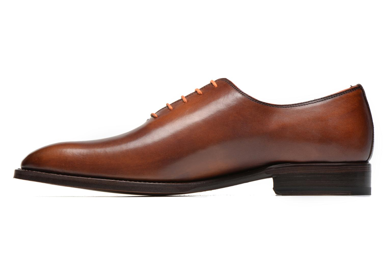 Schnürschuhe Marvin&Co Luxe Wade - Cousu Goodyear braun ansicht von vorne