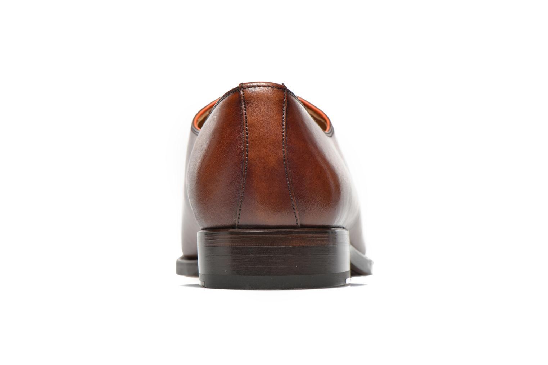 Scarpe con lacci Marvin&Co Luxe Wade - Cousu Goodyear Marrone immagine destra
