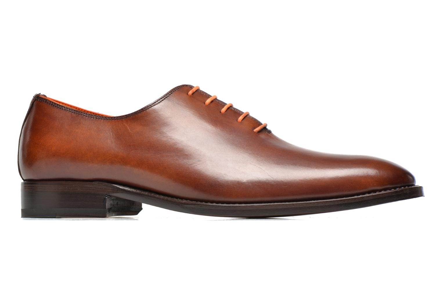 Lace-up shoes Marvin&Co Luxe Wade - Cousu Goodyear Brown back view