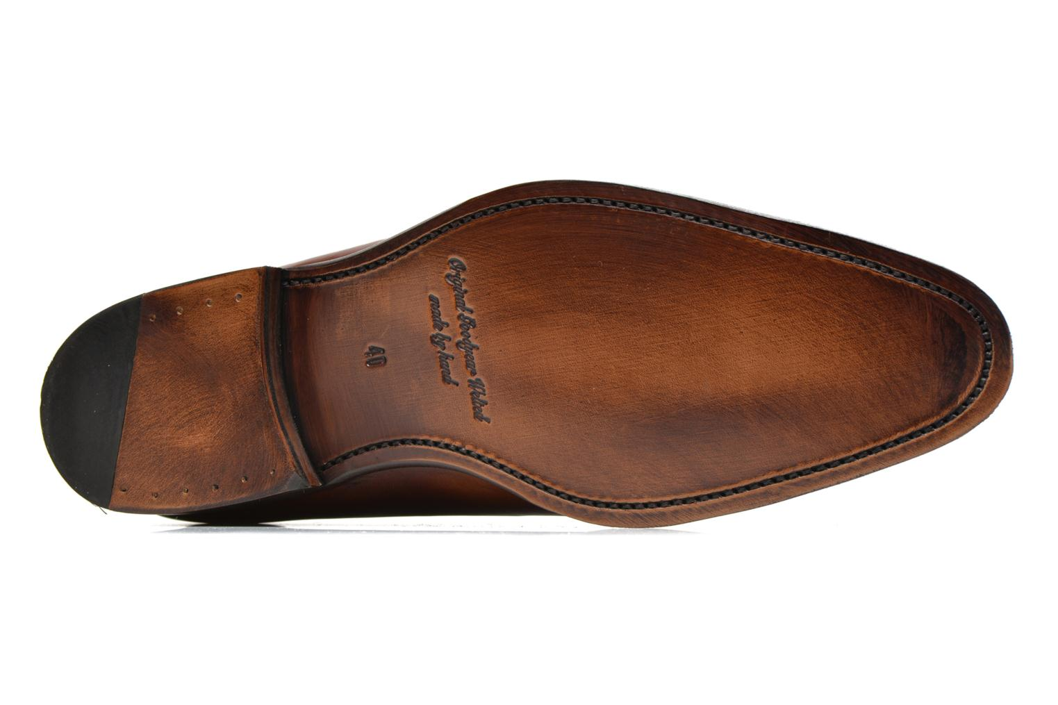 Chaussures à lacets Marvin&Co Luxe Wade - Cousu Goodyear Marron vue haut