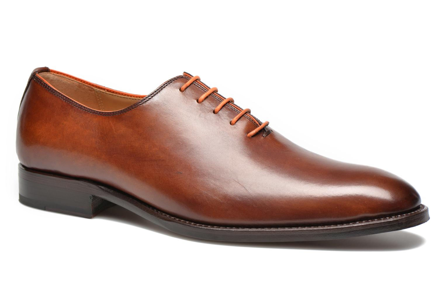 Lace-up shoes Marvin&Co Luxe Wade Brown detailed view/ Pair view