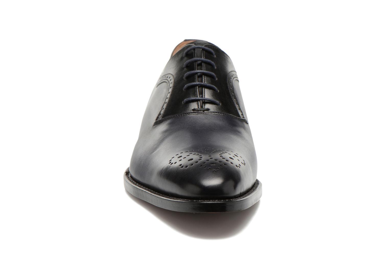 Snörade skor Marvin&Co Luxe Walburg - Cousu Goodyear Blå bild av skorna på