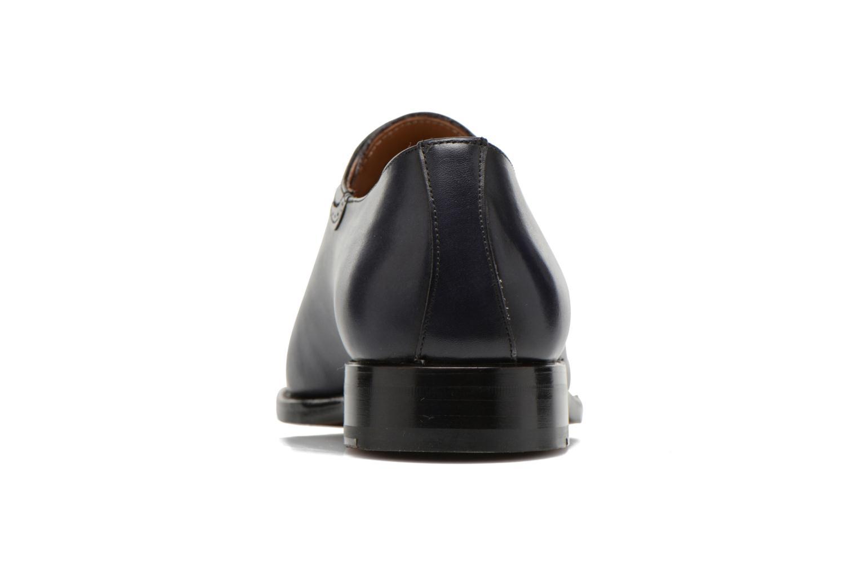Schnürschuhe Marvin&Co Luxe Walburg blau ansicht von rechts