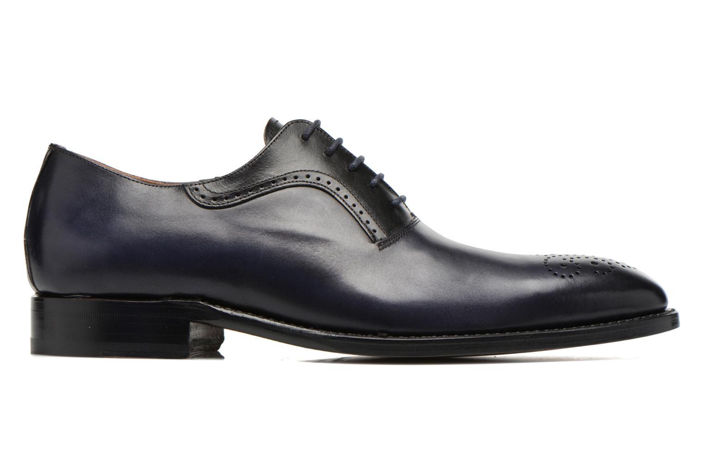 Snörade skor Marvin&Co Luxe Walburg - Cousu Goodyear Blå bild från baksidan
