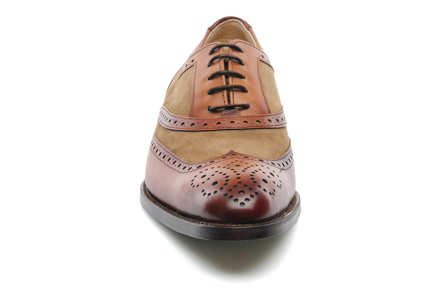 Chaussures à lacets Marvin&Co Luxe Waldemar - Cousu Goodyear Marron vue portées chaussures