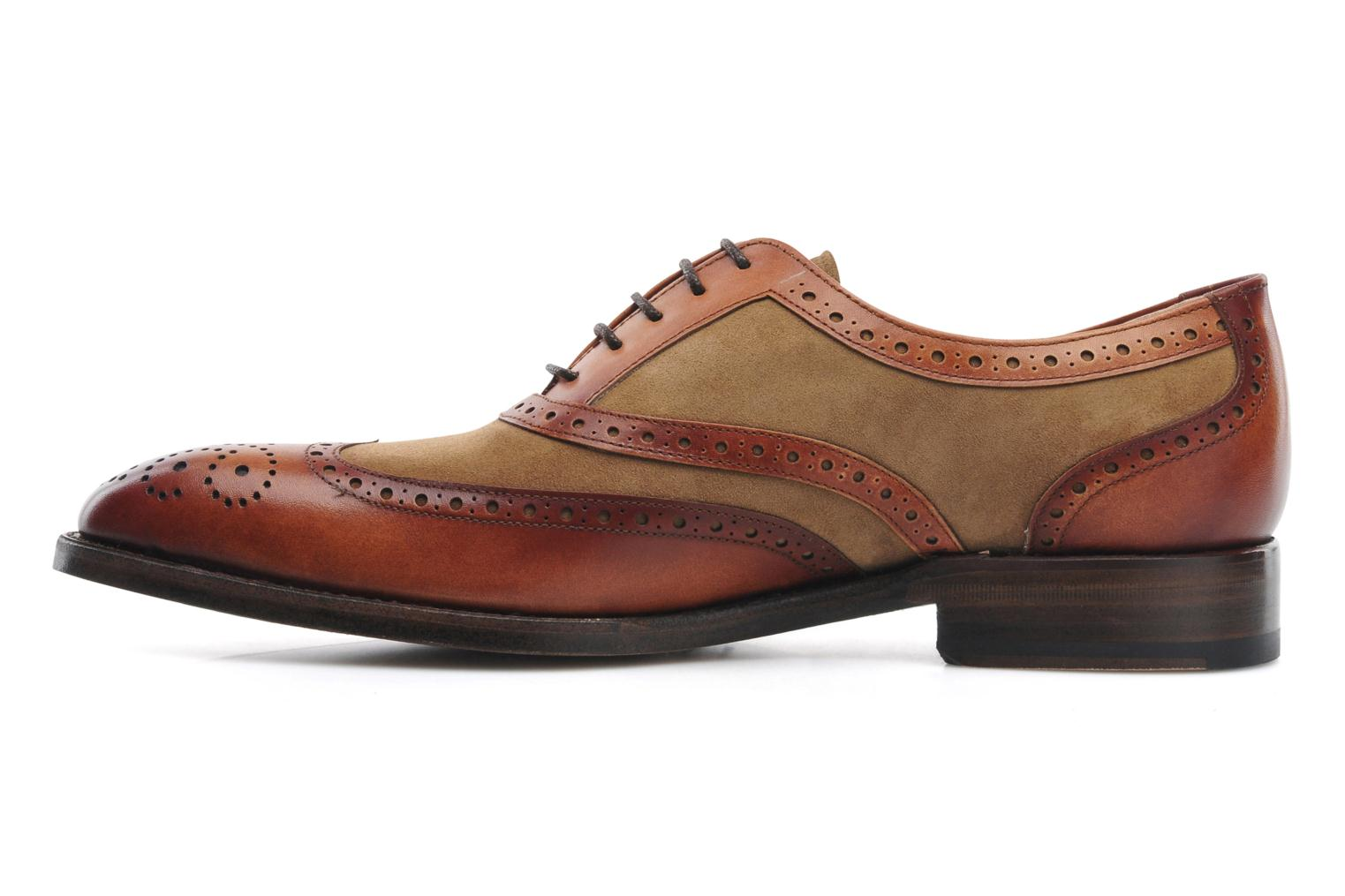 Chaussures à lacets Marvin&Co Luxe Waldemar - Cousu Goodyear Marron vue face