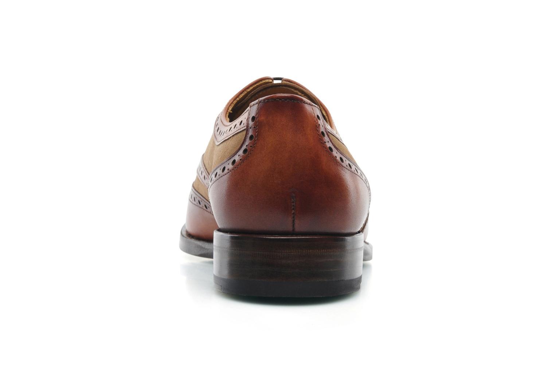Snörade skor Marvin&Co Luxe Waldemar Brun Bild från höger sidan