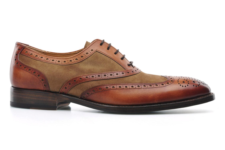 Snörade skor Marvin&Co Luxe Waldemar Brun bild från baksidan
