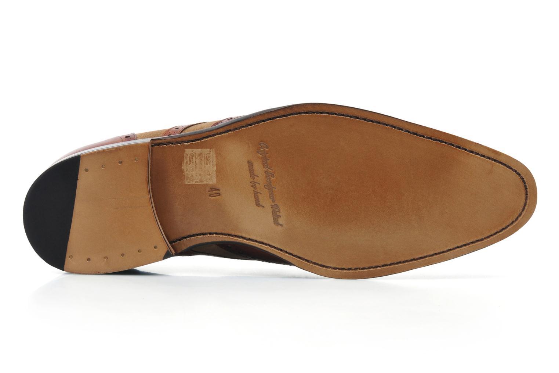 Snörade skor Marvin&Co Luxe Waldemar Brun bild från ovan