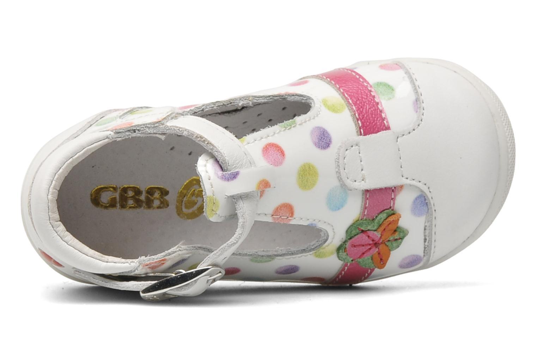 Sandalen GBB GENOVA mehrfarbig ansicht von links