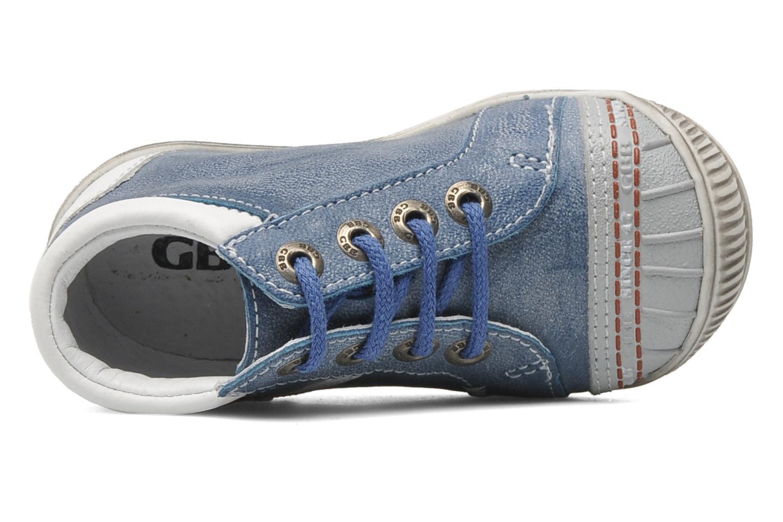 Stiefeletten & Boots GBB GABIN blau ansicht von links