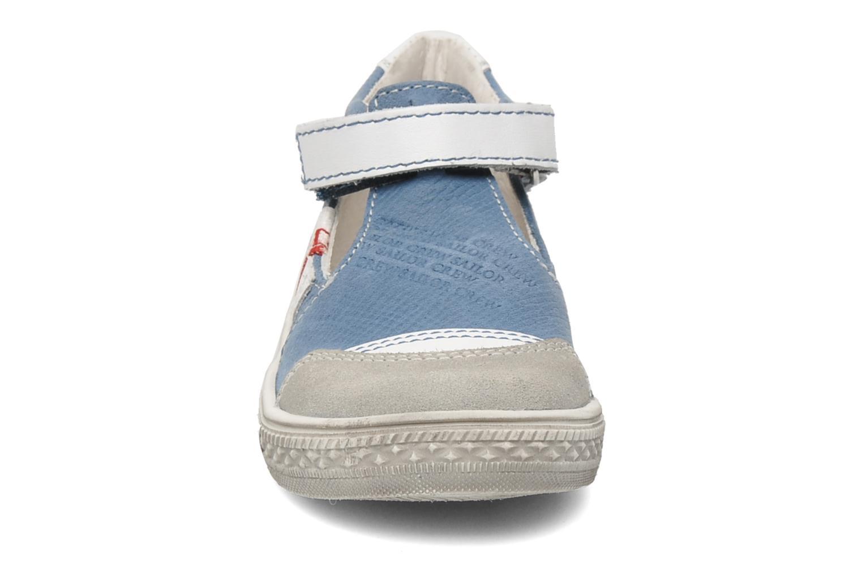 Chaussures à scratch GBB GIMMY Bleu vue portées chaussures