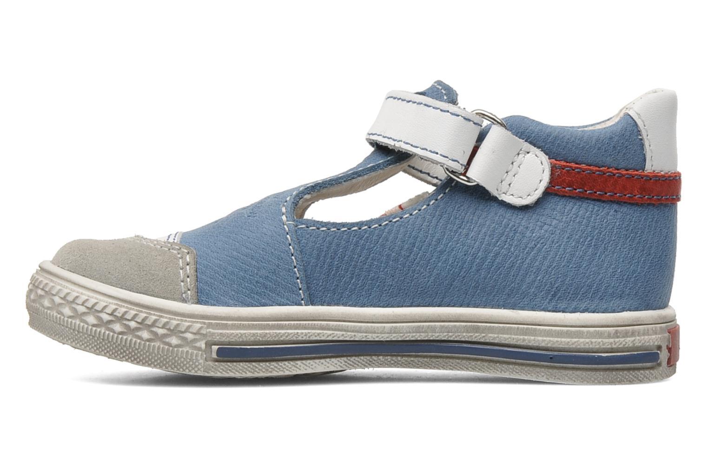Chaussures à scratch GBB GIMMY Bleu vue face