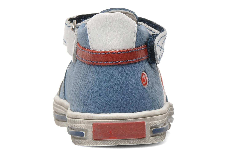 Chaussures à scratch GBB GIMMY Bleu vue droite