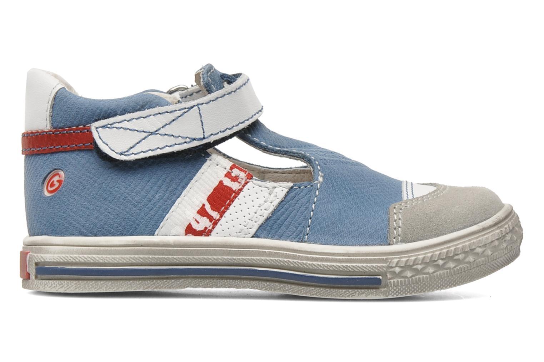 Chaussures à scratch GBB GIMMY Bleu vue derrière