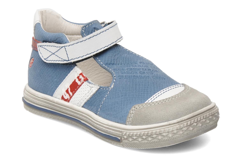 Chaussures à scratch GBB GIMMY Bleu vue détail/paire