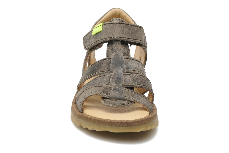 Sandalen GBB GREG grau schuhe getragen