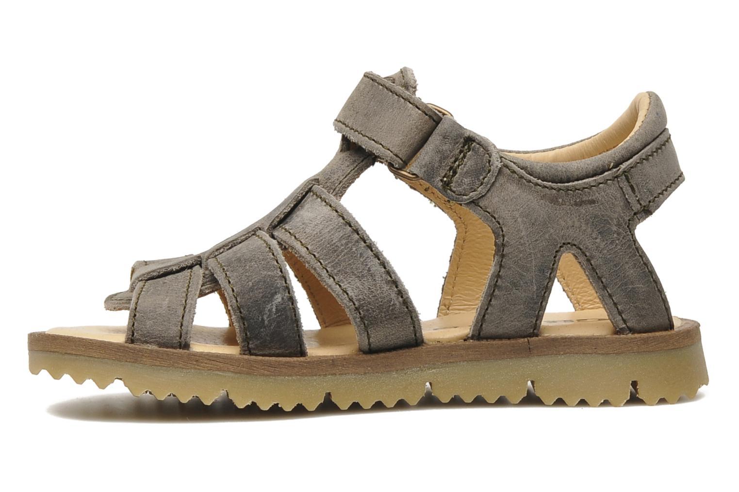 Sandalen GBB GREG grau ansicht von vorne