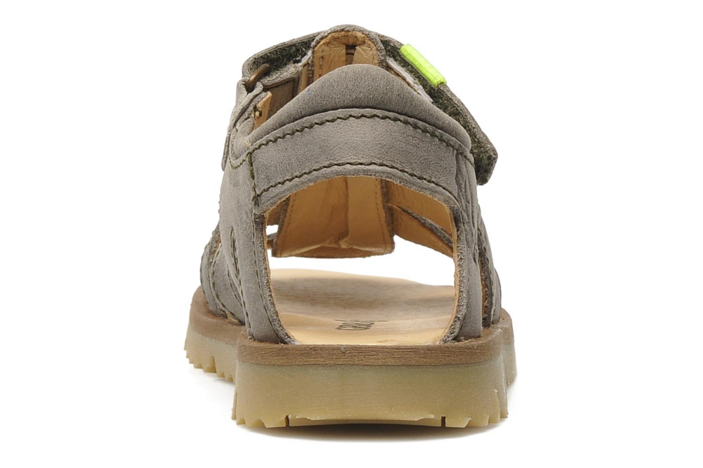 Sandalen GBB GREG grau ansicht von rechts