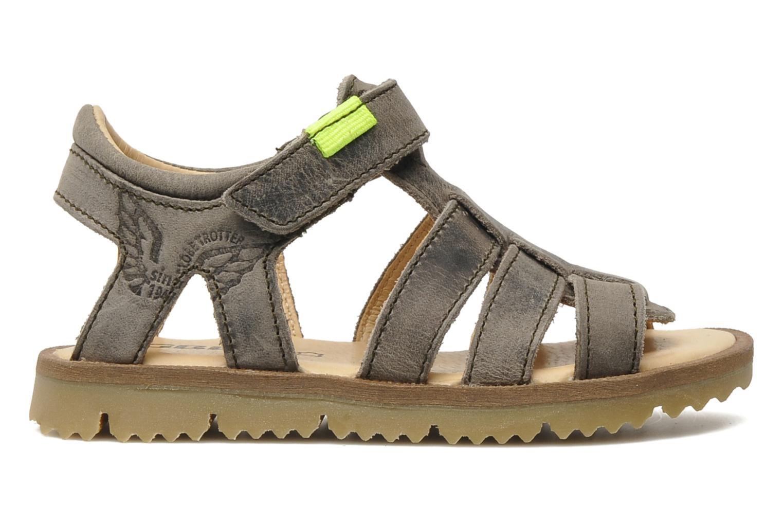 Sandalen GBB GREG grau ansicht von hinten