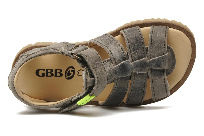 Sandalen GBB GREG grau ansicht von links