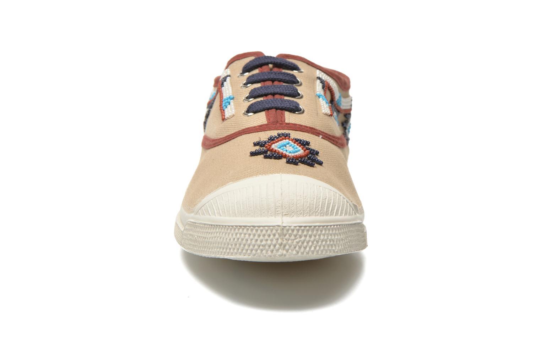 Sneaker Bensimon Tennis Irokoa beige schuhe getragen